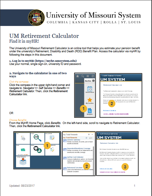 Thumbnail: retirement calculator tutorial