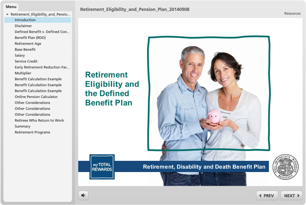 Video: Retirement Eligibility and the Defined Benefit Plan
