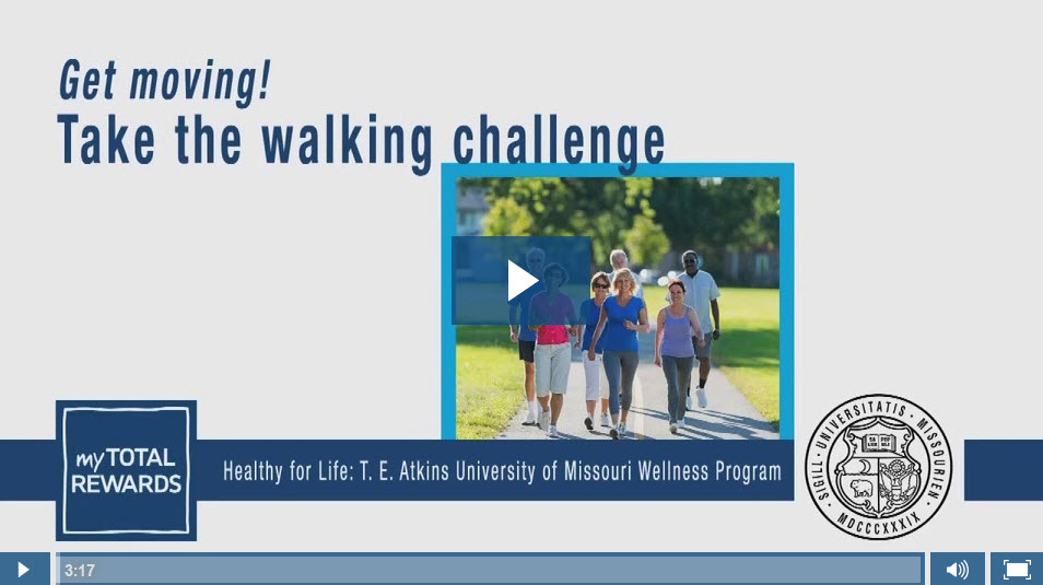 Video: Get moving! Take the walking challenge