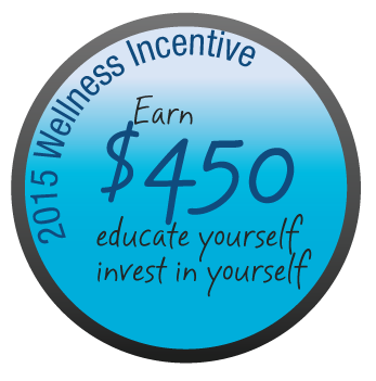 2015 Wellness Incentive