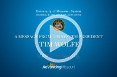 A Message from President Tim Wolfe