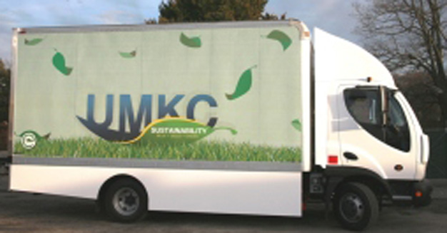 UMKC Purchases Eco-Friendly, Electric Truck