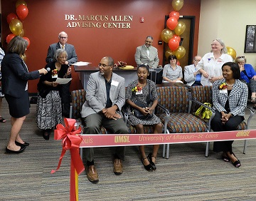 UMSL Advising Center Dedicated to First African American Faculty Member