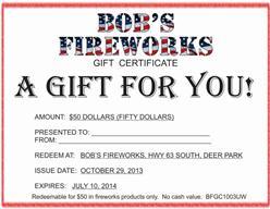 Bobs Fireworks