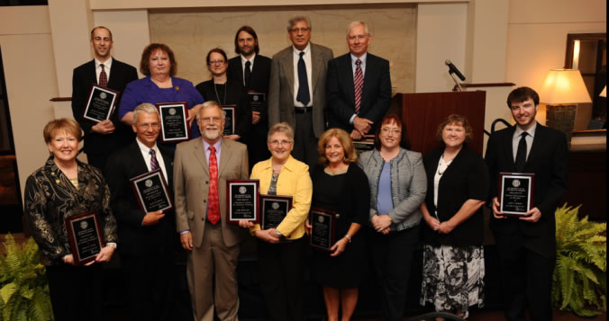 Outstanding faculty and students receive honors at UM System awards ceremony