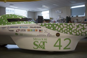 Missouri S&T Solar Car team to race across the country