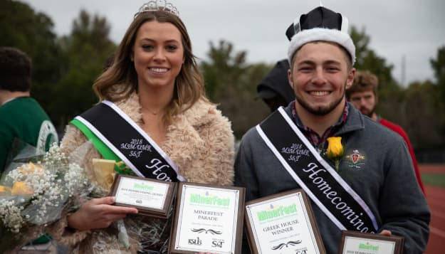 S&T crowns 2018 Homecoming royalty