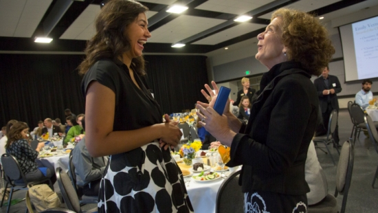 UMKC Scholarship Students Express Gratitude to Donors
