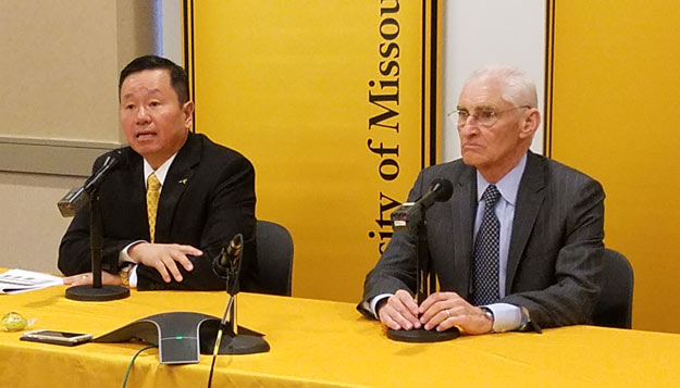 Choi presides over first Board meeting as UM System president