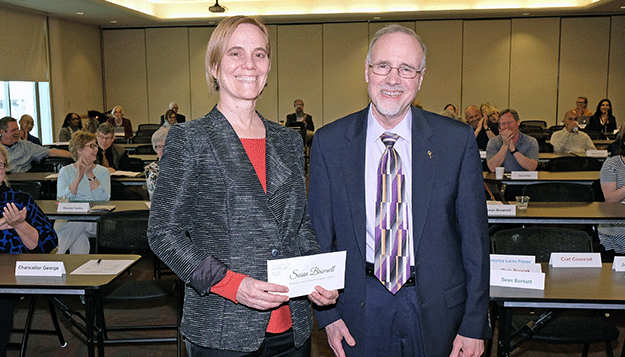 Susan Brownell receives President's Award for Leadership