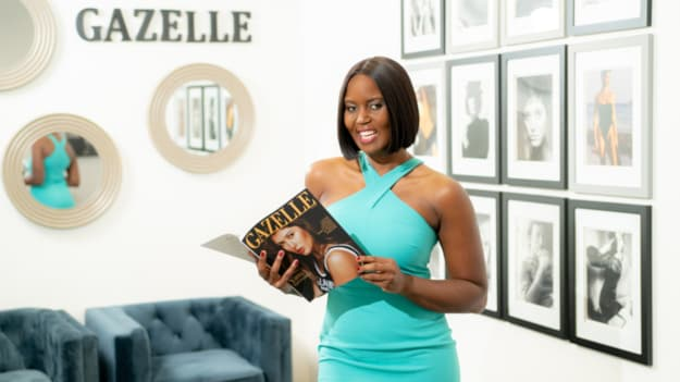 UMSL alumna celebrates fifth year of self-published Gazelle Magazine