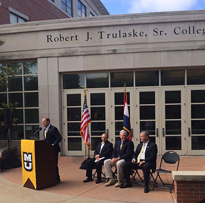 Gov. Nixon announces funds for 50/50 project