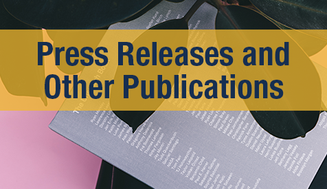 Press Releases and Other Publications