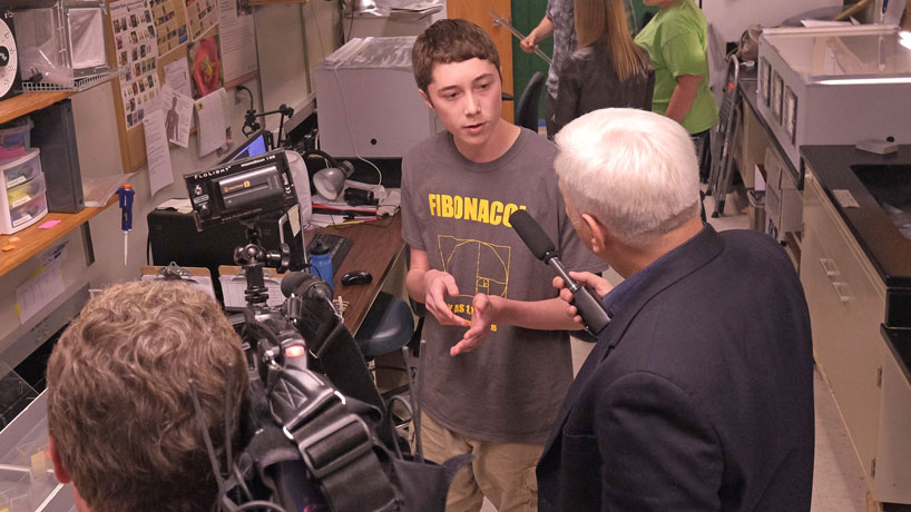 KETC at UMSL, STARS program on camera