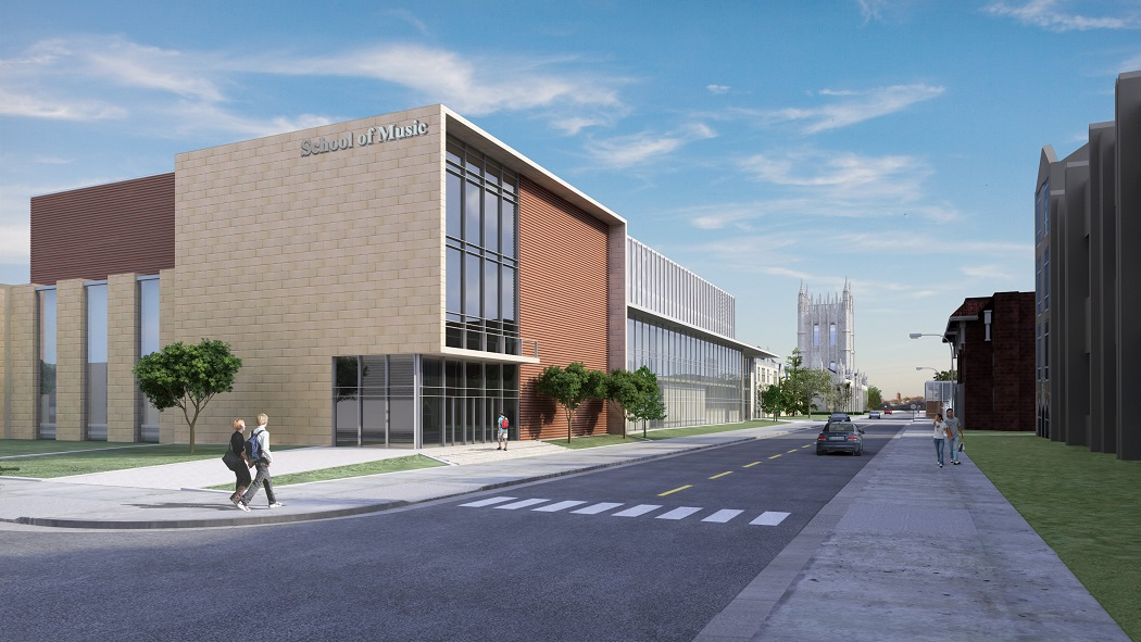 Missouri Couple Gives $10 Million to Support New Music Building at MU