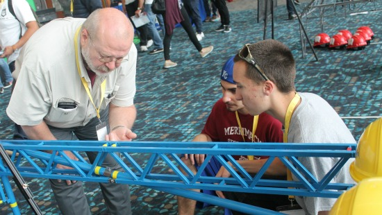 UMKC Hosts Successful Steel Bridge Competition