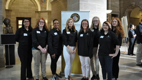 Undergrads Display Research at Legislative Day