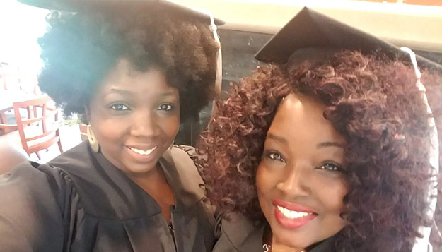 Mother and daughter graduate from UMSL together