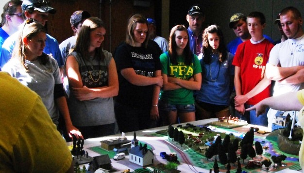 Steelville FFA Participates in Field Day