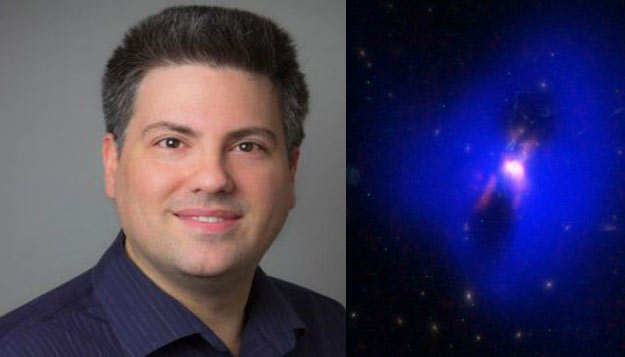UMKC astronomer shares black hole secret