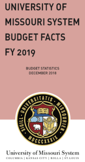 Download the UM System Budget Facts book