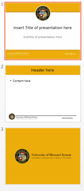 Color PPT Template