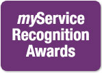 Visit the myService Recognition webpage