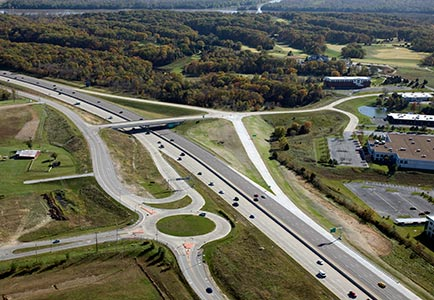 1-40 Interchange & Roundabout