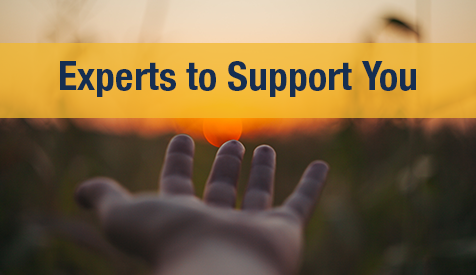 Experts to Support You