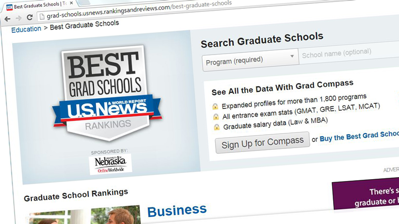 Nine UMSL graduate programs land on US News 'Best' list
