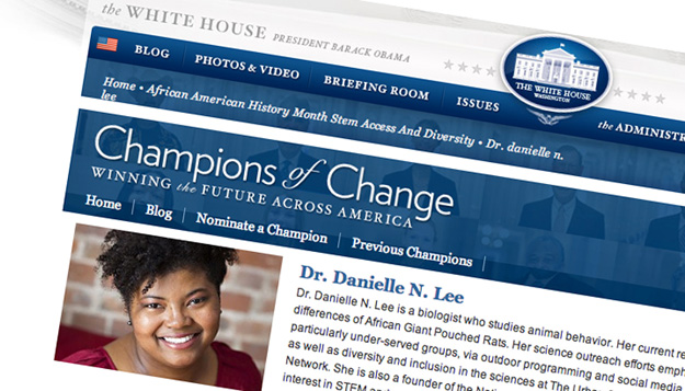 White House Honors UMSL Alumna