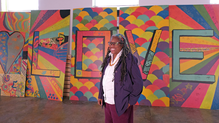 Cultural anthropologist strengthens community through art