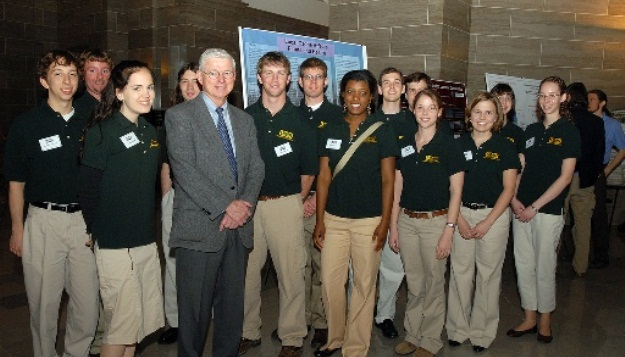 Missouri S&T Students Share Research Results with Legislators