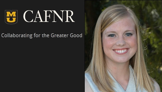 CAFNR Names Outstanding Senior From Bolivar