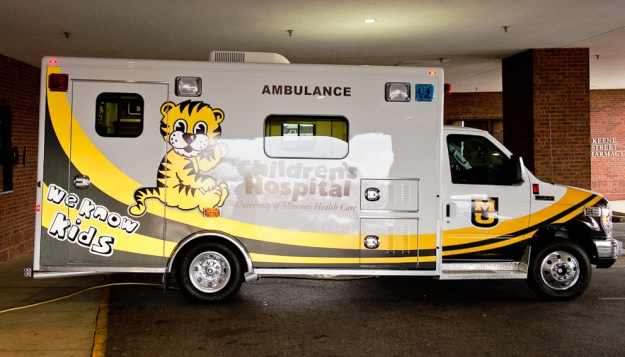 Gift Inspires Unique Ambulance Design