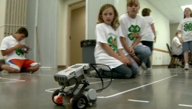 Robotics Camp Exposes Youth to New Technologies