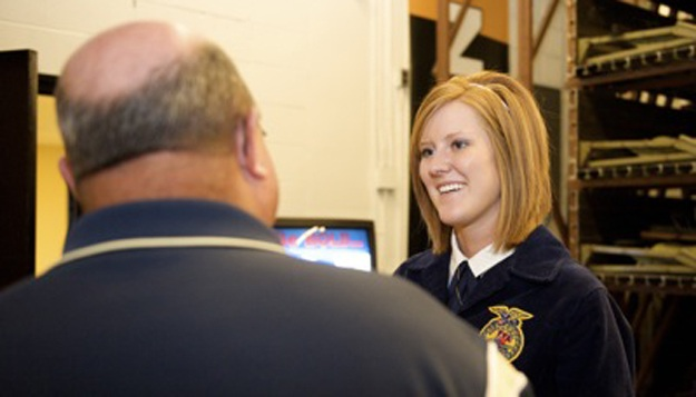 A Day in the Life of a State FFA Officer