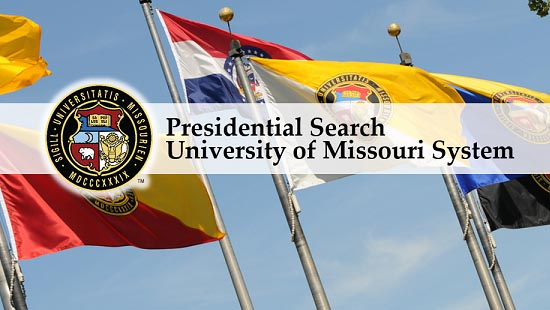 Curators appoint Presidential Search co-chairs, announce public forums