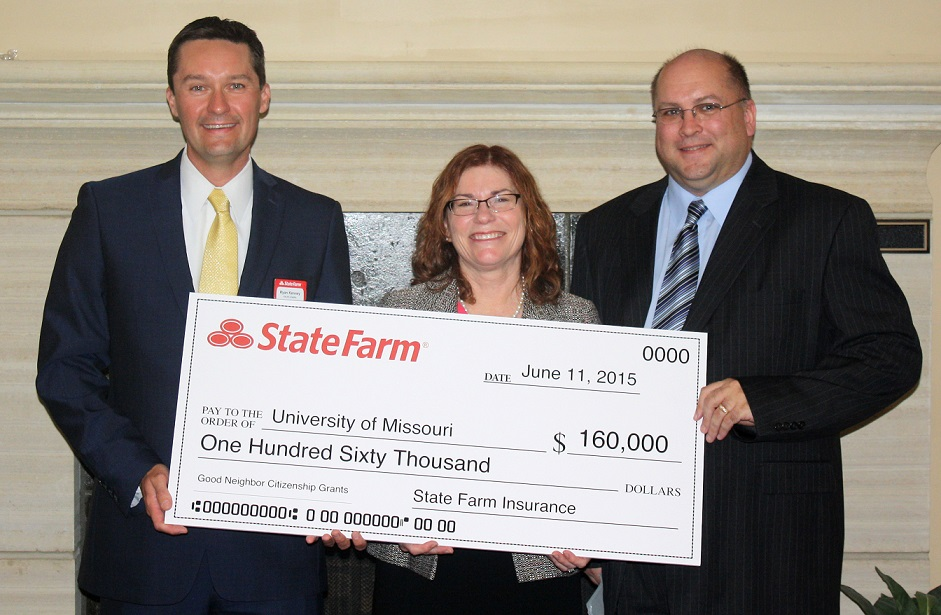 MU Receives Gift from State Farm Insurance to Support Various Programs