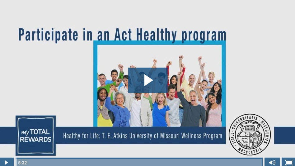 Video: Participate in an Act Healthy program