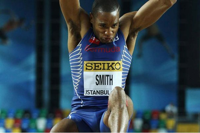Tyrone Smith competes in Olympic Games for third time