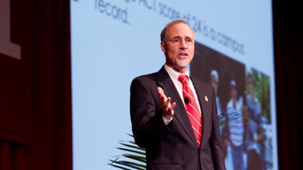 UMSL Chancellor Looks Back, Ahead in Community Report