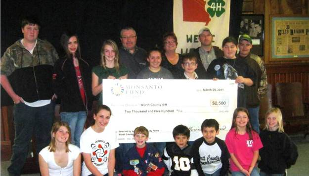 Worth Co. Farmer Wins $2,500 for Worth County 4-H