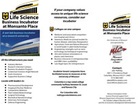 Life Sciences Incubator Brochure