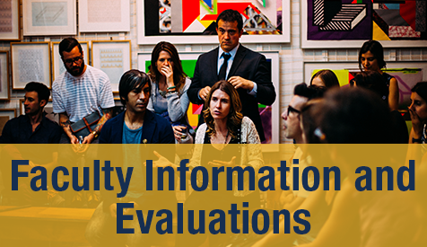 Faculty Information and Evaluations